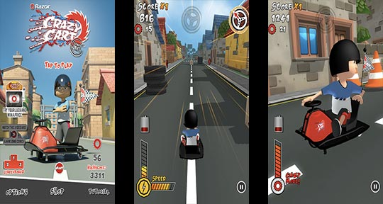 Download the free Crazy Cart: Ultimate Drift app
