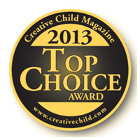 top choice creative child magazine award 2013