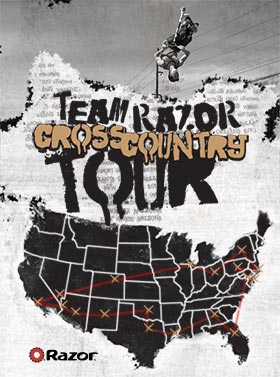 Team Razor Cross Country Tour - October 2013