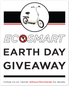 The Razor EcoSmart Metro electric scooter giveaway