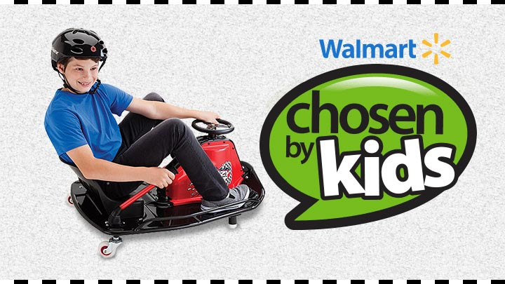 Crazy Cart on Walmart's 2014 Chosen by Kids List
