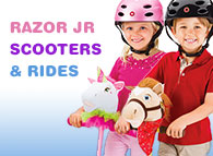 Razor Jr Scooters for Preschool Kids
