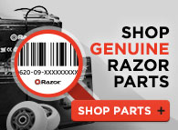 Shop Genuine Razor Parts