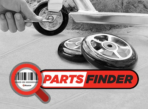Parts Finder — Shop Genuine Razor Parts