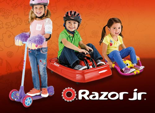 Razor Jr. — Junior Rides for Preschoolers