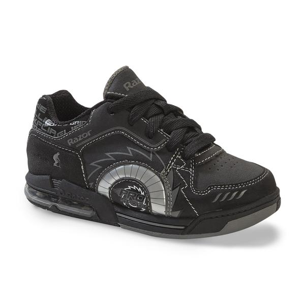 Razor Boys' Black Light-Up Skate Shoe