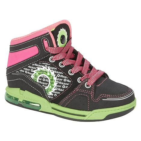 Razor Girls' Black High-Top