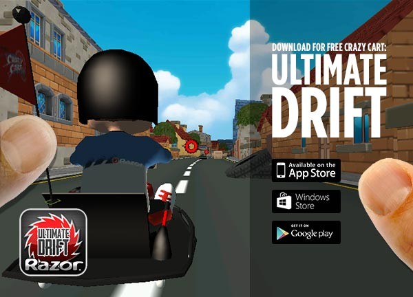 Get the Crazy Cart: Ultimate Drift App