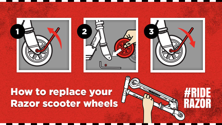 How to Replace Razor Scooter Wheels in 3 Easy Steps